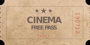 Kinokarte für gute Filme 2017