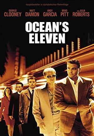 Ocean's Eleven mit Brad Pitt und George Clooney