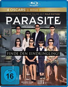 Gute Filme sehen - Parasit Blue Ray