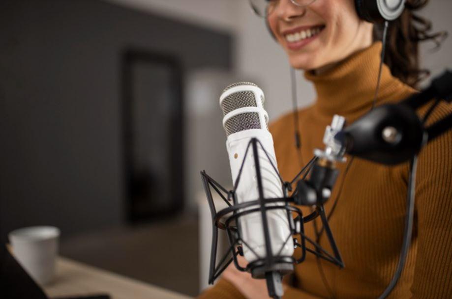 Podcast-Mikrofon für unseren Gute-Filme-Podcast 1